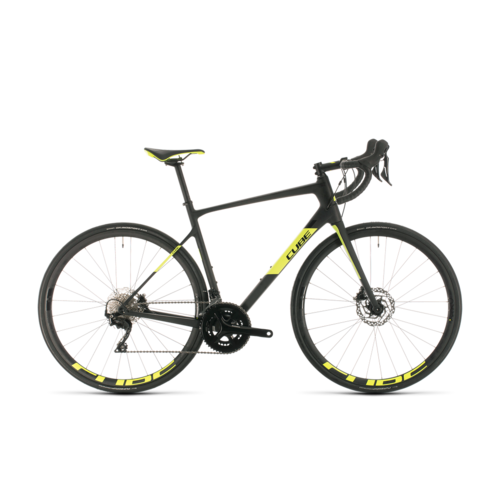 CUBE CUBE ATTAIN GTC RACE CARBON/FLASHYELLOW 2020