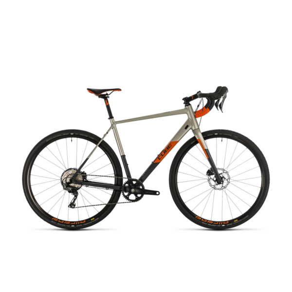 CUBE NUROAD SL TITANIUM/ORANGE 2020