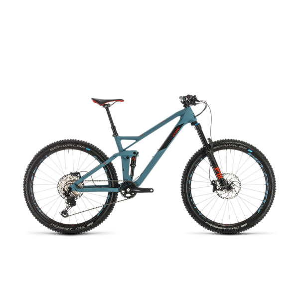 CUBE STEREO 140 HPC RACE 27.5 BLUGRY/RED 2020