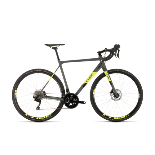 CUBE CUBE CROSS RACE PRO GREY/FLASHYELLOW 2020