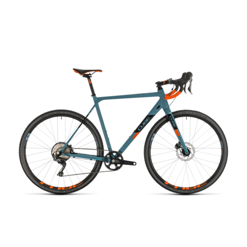 CUBE CUBE CROSS RACE SL BLUEGREY/ORANGE 2020