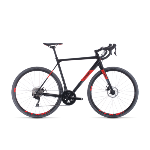 CUBE CUBE CROSS RACE BLACK/RED 2020