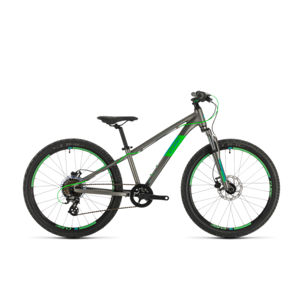CUBE ACID 240 DISC GREY/NEONGREEN 2020 24""