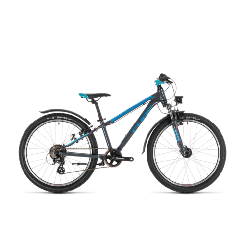 CUBE CUBE ACCESS 240 ALLROAD GREY/BLUE/PINK 2020 24""