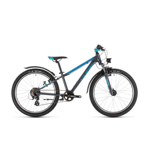 CUBE ACCESS 240 ALLROAD GREY/BLUE/PINK 2020 24""