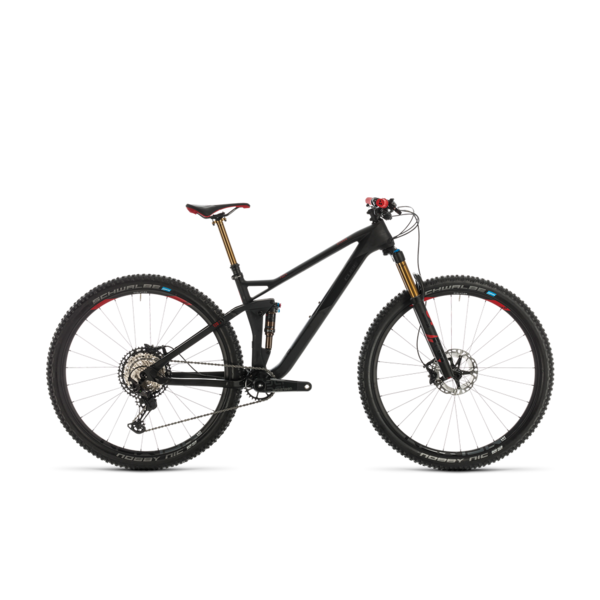 CUBE STEREO 120 HPC SLT 29 CARBON/RED 2020