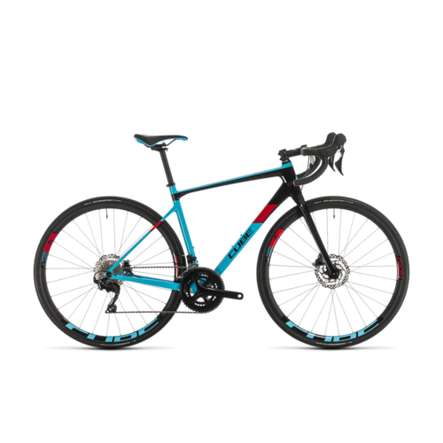 CUBE CUBE AXIAL WS GTC PRO LIGHTBLUE/RED 2020
