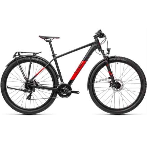 CUBE CUBE AIM ALLROAD BLACK/RED 2021