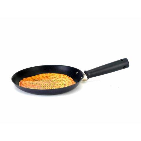 pannenkoekenpan  inductie Ø 25 cm  Crêpe pan - zwart met anti-kleeflaag