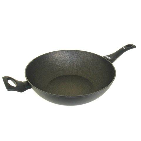 Wokpan  inductie - Ø 32 cm - met anti-kleeflaag - zwart