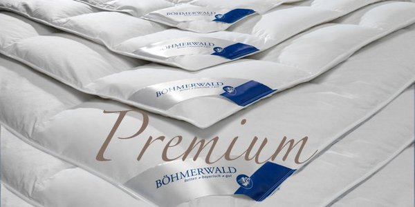 BÖHMERWALD Premium-Daunenbettdecken