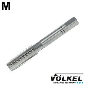 Völkel Handtap middensnijder, DIN 352, HSS-G, linkse draad M5 x 0.8