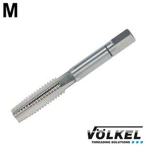Völkel Handtap voorsnijder, DIN 352, HSS-G, linkse draad M8 x 1.25