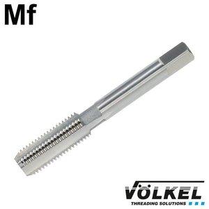Völkel Handtap eindsnijder, DIN 2181, HSS-G, linkse draad Mf12 x 1.25