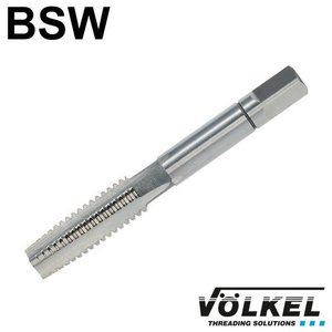 Völkel Handtap voorsnijder, ≈ DIN 352, HSS-G, linkse draad BSW 3/16 x 24