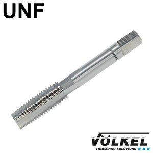Völkel Handtap voorsnijder, ≈ DIN 2181, HSS-G, linkse draad UNF 1/4 x 28