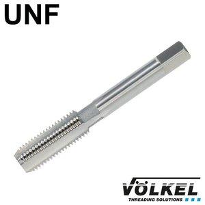 Völkel Handtap eindsnijder, ≈ DIN 2181, HSS-G, linkse draad UNF 3/8 x 24