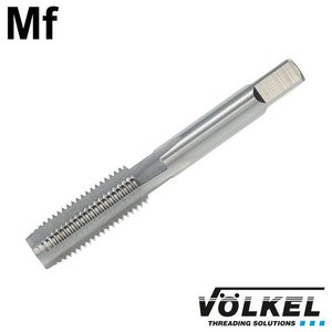 Völkel Korte machinetap, DIN 2181, HSS-G, vorm D, Mf10 x 1.0