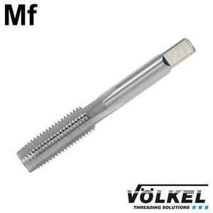 Völkel Korte machinetap, DIN 2181, HSS-G, vorm D, Mf18 x 1.0