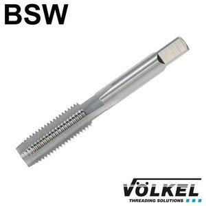 Völkel Korte machinetap, ≈ DIN 352, HSS-G, vorm D, BSW 1/4 x 20