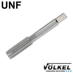 Völkel Korte machinetap, ≈ DIN 352, HSS-G, vorm D, UNF 1/4 x 28