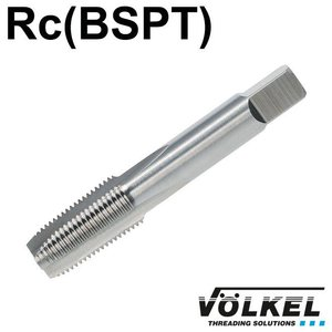 Völkel Korte machinetap, HSS-G, vorm B met schilaansnijding, PT1/4 x 19