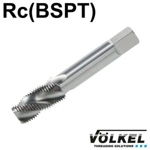 Völkel Korte machinetap, HSS-G, vorm C / 35° RSP, PT1/4 x 19