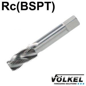 Völkel Korte machinetap, HSS-G, vorm C / 35° RSP, PT3/8 x 19