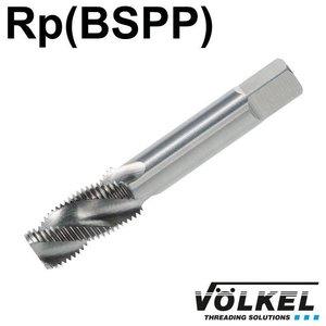 Völkel Korte machinetap, HSS-G, vorm C / 35° RSP, PS1.1/4 x 11