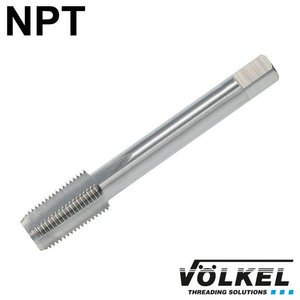 Völkel Korte machinetap, HSS-G, vorm C, NPT1.1/2 x 11.5