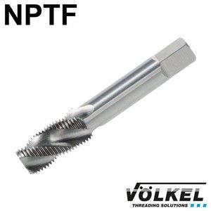 Völkel Korte machinetap, HSS-E, vorm C / 35° RSP, NPTF1/4 x 18
