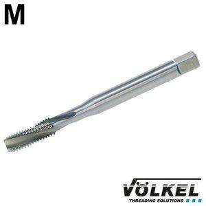 Völkel Machinetap, DIN 371, HSS-E, vorm C / 15° RSP met rechtsspiraal, M 4 x 0.7