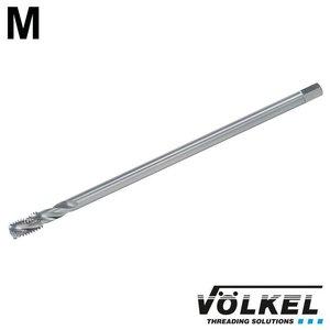 Völkel Machinetap, ≈ DIN 371, HSS-E, vorm C / 35° RSP met rechtsspiraal, extra lang (150mm), M4 x 0.7