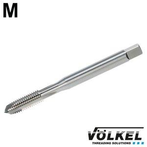 Völkel Machinetap, DIN 371, HSS-E, vorm B met schilaansijding, overmaat (6G), M2.5 x 0.45