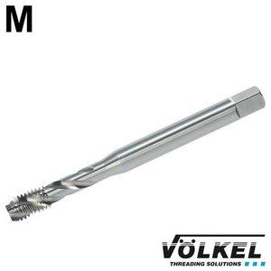 Völkel Machinetap, DIN 371, HSS-E, vorm C / 35° RSP met rechtsspiraal, overmaat (+0.1mm), M3 x 0.5