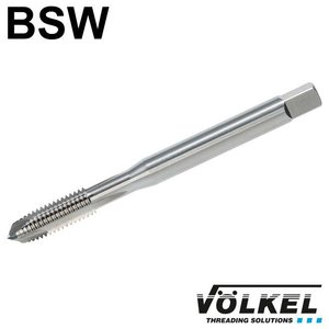 Völkel Machinetap, ≈ DIN 371, HSS-E, vorm B met schilaansnijding, BSW1/8 x 40