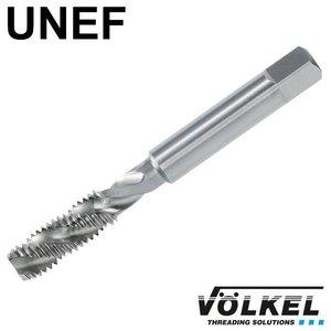 Völkel Machinetap, ISO 529, HSS-E, vorm C / 35° RSP met rechtsspiraal, UNEF 1/4 x 32