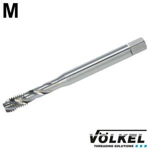 Völkel Machinetap, DIN 371, HSS-E, vorm C / 35° SP met spiraal, linkse draad M 8 x 1.25
