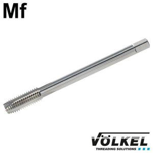 Völkel Machinetap, DIN 374, HSS-E, vorm B met schilaansnijding, linkse draad Mf10 x 1.25