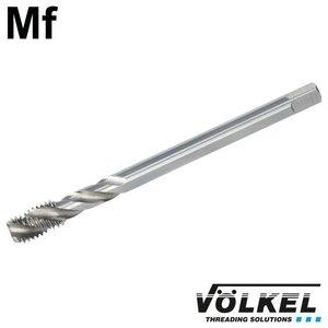 Völkel Machinetap, DIN 374, HSS-E, vorm C / 35° SP met spiraal, linkse draad Mf8 x 1.0
