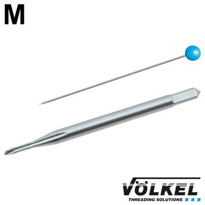 Völkel Machinetap, DIN 371, HSS-E, vorm B met schilaansnijding, M 1.7x0.35