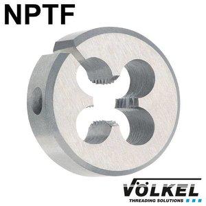 Völkel Snijplaat, HSS, vorm A open, NPTF1'' x 11.5