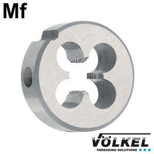 Völkel Snijplaat, DIN 223 (DIN EN 22568), HSS, linkse draad Mf10 x 1.0