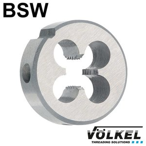 Völkel Snijplaat, DIN 223 (DIN EN 22568), HSS, linkse draad BSW 1/4 x 20