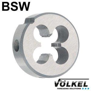Völkel Snijplaat, DIN 223 (DIN EN 22568), HSS, linkse draad BSW 1'' x 8