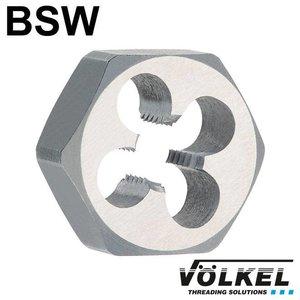 Völkel Snijmoer, DIN 382, HSS, BSW1.3/8 x 6