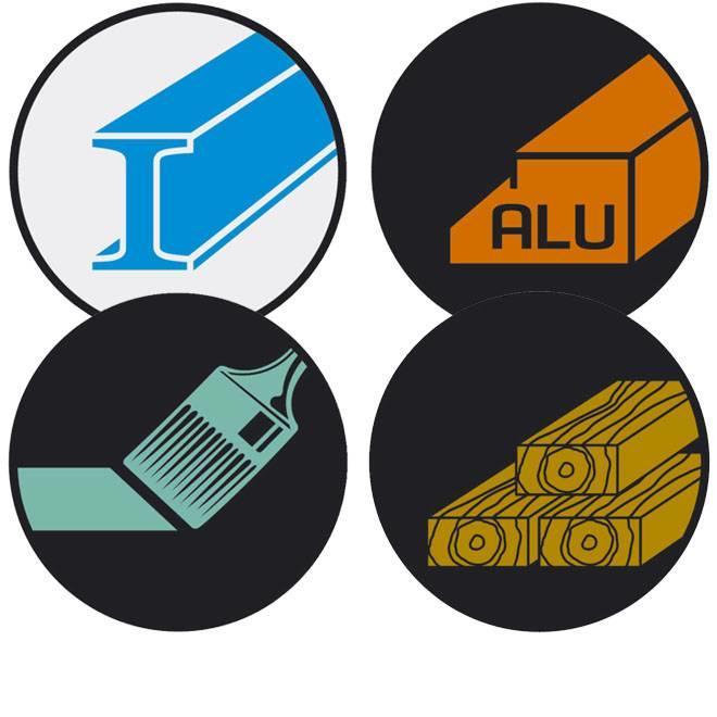 Voor staal, nf-metalen, hout, verf en lak