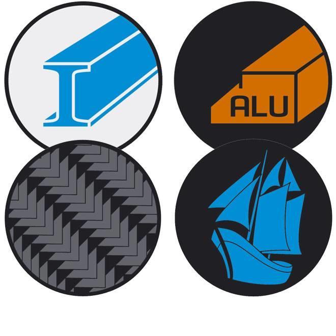 Voor staal, non-ferrometalen, composiet en gelcoat