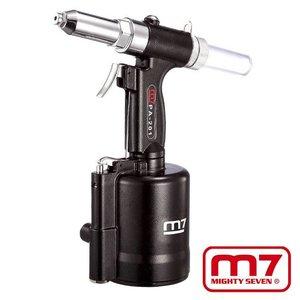 Mighty-Seven Pneumatische blindklinktang 2.4, 3.2, 4.0, 4.8, 6.4mm