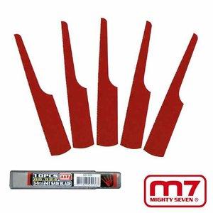 Mighty-Seven Metaalzaagbladen HSS 24 TPI